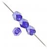 Fire Polished 4mm Cobalt Blue Luster